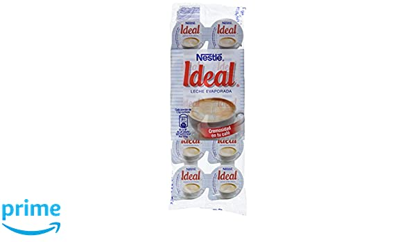 Nestl - Ideal - Leche evaporada - 10 x 7.1 ml - , Pack de 6: Amazon ...
