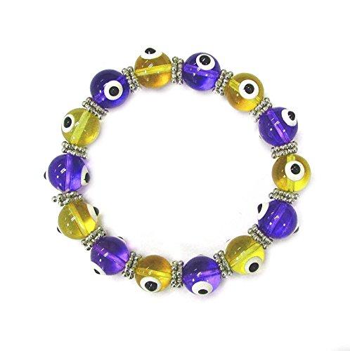 Evil eye stretch bracelet/ Length 7.5