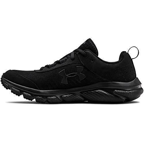 Under Armour Women's Charged Assert 8 Running Shoe (002)/Black, 9.5