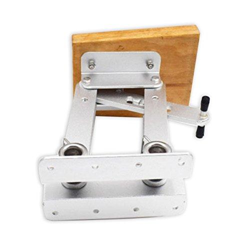 spareflying Aluminum Outboard Mount Motor Wooden Board Bracket Trolling Dingy 2 Stroke 7.5-20 HP