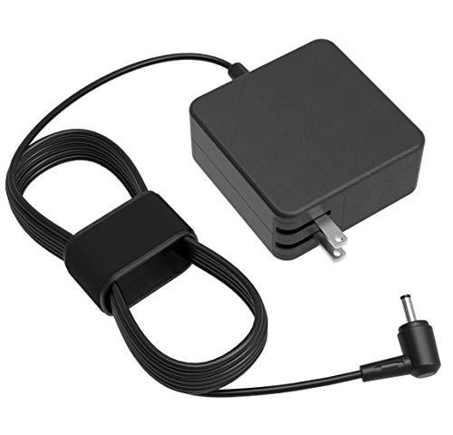 [UL Listed] AC Charger for Asus Q302 Q302L Q302LA Q302U Q302UA Q303 Q303U Q303UA Q304 Q304U Q304UA Q504 Q504U Q504UA Q503 Q503U Q503UA Q200 Q200E Q553U Q553UB Q553 Laptop 7.54Ft Power Supply Cord