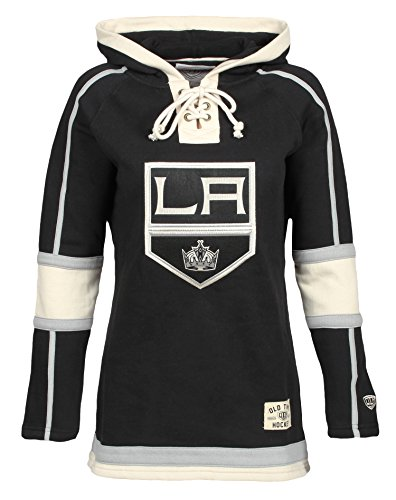 NHL Los Angeles Kings Women's Lacer Heavyweight Hoodie, Medium, (La Kings Sweatshirt)