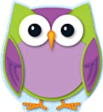 Carson Dellosa Colorful Owl Cut-Outs (120133)
