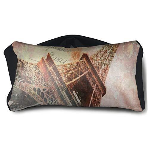 Eye Pillow Vintage Paris Eiffel Stylish Eye Bag Mask Mens Portable Blindfold Train Sleep Protection