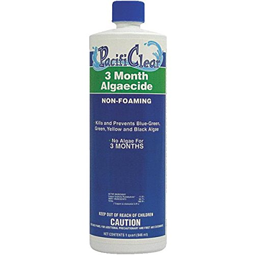 WATER TECHNIQUES F059001012PC Qt 3-Month Algaecide, 1