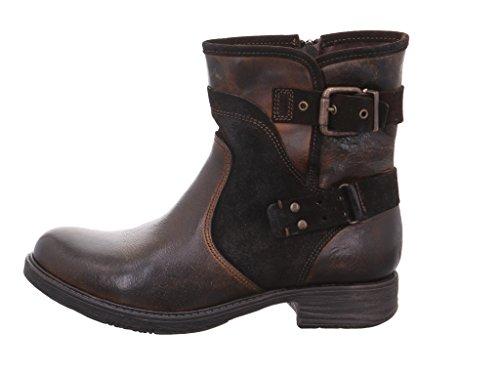 Marco Tozzi - Botas de Piel para mujer Marrón marrón oscuro Marrón - marrón oscuro