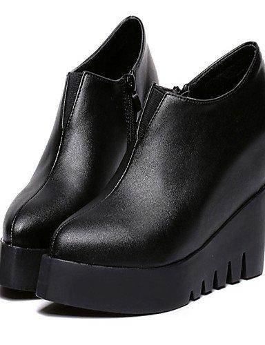 Casual us7 us7 Botas uk6 Semicuero us8 cn38 cn39 cn38 Zapatos 5 black 5 Puntiagudos Plataforma black eu39 mujer de XZZ eu38 eu38 black 5 uk5 uk5 Negro 5 FwvXqTYF