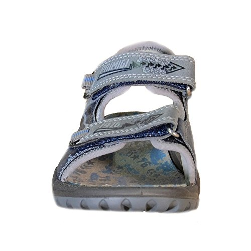 Primigi - Primigi Sandaletti Bambino Blu Pelle Strappi 87540 - Azul, 31