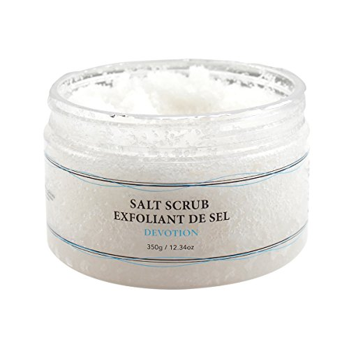 (Vivo Per Lei Dead Sea Salt Scrub | Body Exfoliating Scrub with Dead Sea Minerals | Sea Salt Scrub for Hands, Feet & Body | Body Scrub to Gently Exfoliate Skin | Dead Sea Scrub to take you to Cloud 9)