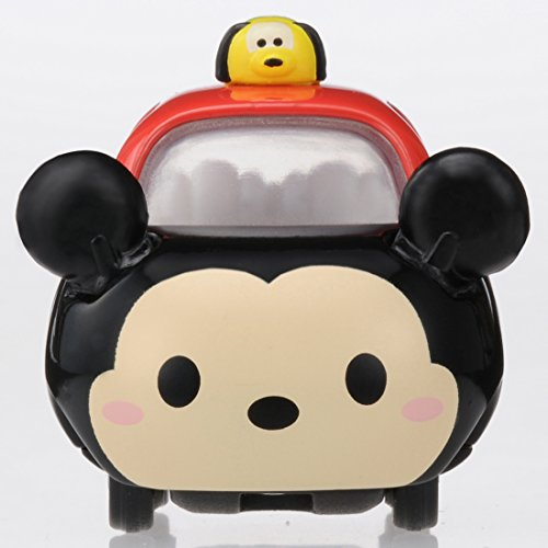 Tomica Disney Motors Tsum Tsum DMT-01 Mini Car Figure with Top, Mickey Mouse