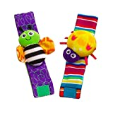 Blige SMTF Cute Animal Soft Baby Socks Toys Wrist