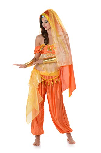 Women's Bedouin Princess Costume, for Halloween Party Accessory, Extra Small -