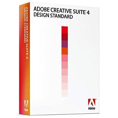 Adobe Creative Suite 4, DESIGN STANDARD, MAC Os, Full Version