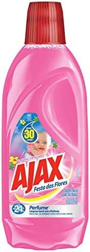 Limpador Diluível Ajax Festa Das Flores Perfume Delicado 500Ml
