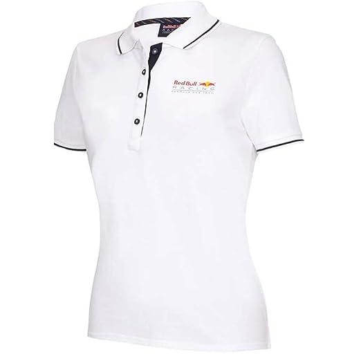 Red Bull Racing Mujer Camiseta Polo Blanco - Blanco, M: Amazon.es ...