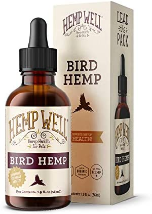 Hemp Well Bird Hemp Oil –Reduces Feather