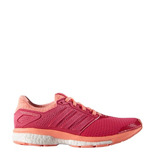 adidas Running Women's Supernova Glide 8 W Shock Red/Sun Glow 6 B US