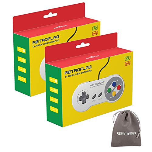 Retroflag SUPERPI CASE NESPI Case JCase SFC Case Functional Power and Safe Reset Button with USB Controller, Raspberry Pi...