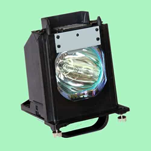 Compatible Mitsubishi WD-65C10 TV Replacement Lamp with Housing