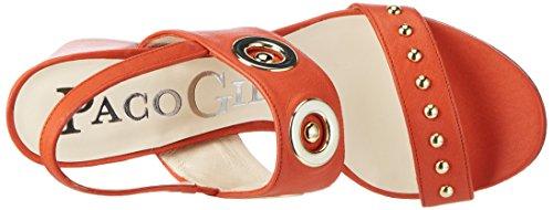 Paco Gil P3229 - Sandalias Mujer Orange (BRICK)
