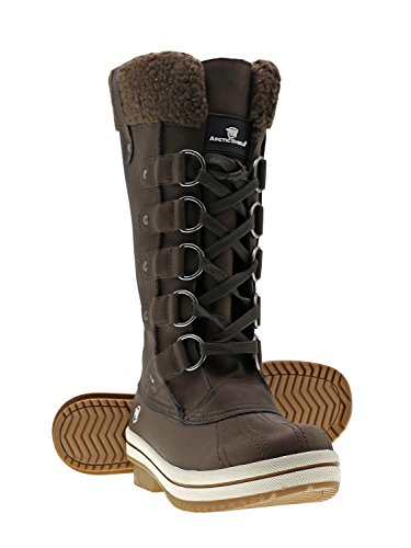 Womens Brown Snow Boot by ArcticShield
