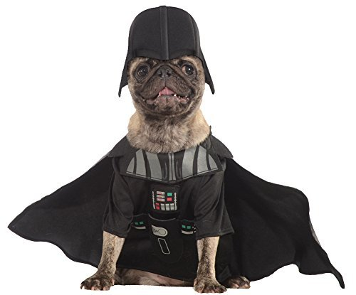 Halloween Costumes Item - Cat & Dog Costume Darth Vader Small by SALES4YA