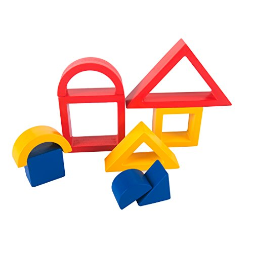 GYBBER&MUMU Colorful Wooden Shape Puzzle Toys Set For Toddlers 9 Piece