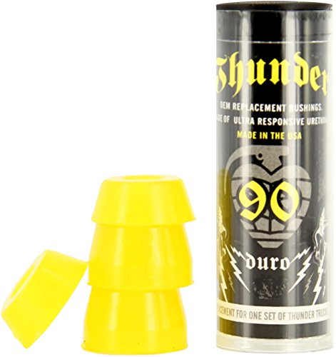(Thunder Trucks Skateboard Bushings 90A X-Soft Yellow)