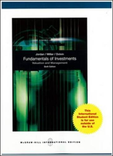 Read Online Fundamentals of Investments PDF