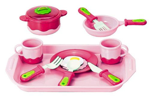 Liberty Imports Breakfast Playset Cookware