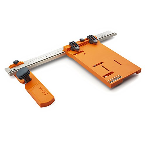 "Saw Plate and Rip Guide System. Everything You Need to Make Straight Cuts of Any Length Up To 24"" Wide ()"