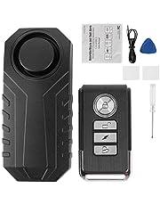 aqxreight - Motorbike Anti‑Theft Alarm, 113dB Remote Control Wireless Motorbike Anti‑Theft Alarm Protective Vibration Security System