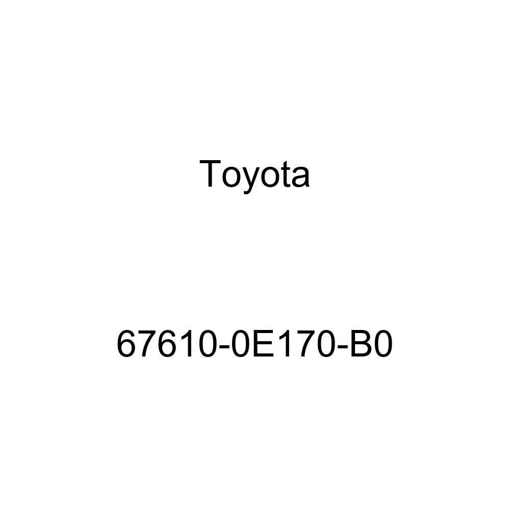 Genuine Toyota 67610-0E170-B0 Door Trim Board