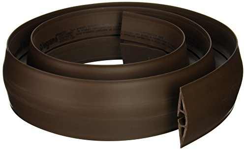 C2G/Cables to Go 16329 Wiremold Corduct Overfloor Cord Protector, Brown (5 Feet) ()