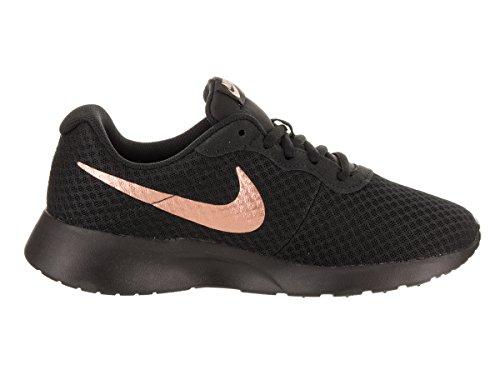 Nike Femmes Tanjun Chaussures De Course, Nero Bleu (bronze Noir / Rouge Mtlc 005)
