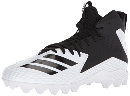 - adidas Men's Freak Mid MD Football Shoe, White Black, 10.5 M US