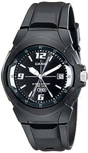 Casio MW600F-1AV - Reloj para hombres, correa de goma color negro