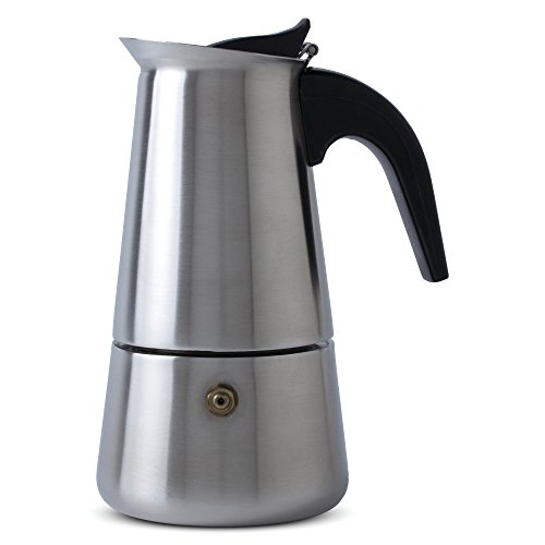 Chef's Secret Heavy-Gauge Stainless Steel 4-Cup Espresso Maker by Chef's Secret