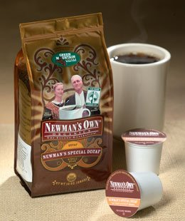 - Newman's Own Organic Special Decaf Ground Coffee, 10-Ounce Bag (Pack of 6)
