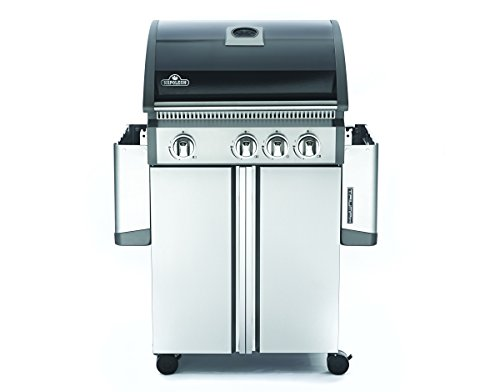 Napoleon T410SBNK Triumph Natural Gas Grill with 3 Burners, Black and Stainless Steel