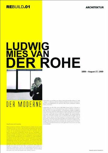 NAXART MIES VAN DER ROHE Premium Poster Print 27