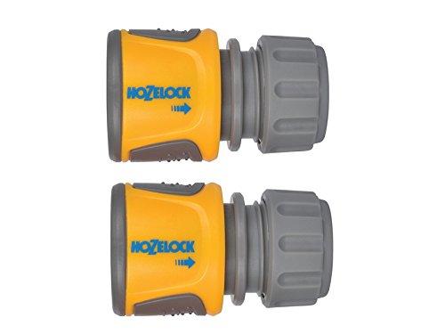 Hozelock 2070Soft Touch raccordo per tubo da giardino, confezione da 2