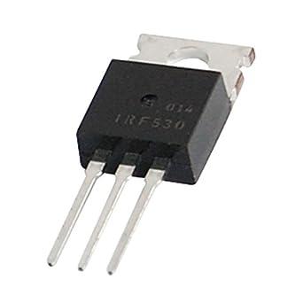 Amazon.com: TOOGOO (R) irf530 100 V 14 a potencia de N ...
