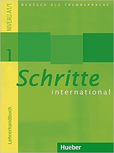 SCHRITTE INTERNATIONAL 1 LEHRER EPUB