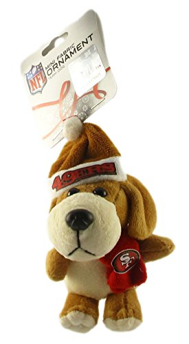 San Francisco 49ers - NFL Plush Dog Ornament