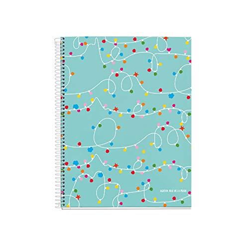 (Agatha Ruiz De La Prada Notebook A5 Horizontal 120 Sheets Lights )