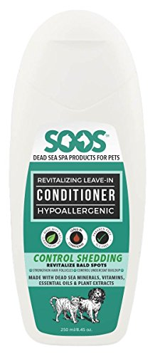 Soos Pets Natural Dead Sea Hypoallergenic Revitalizing Leave-in Conditioner, 250 mL/8.45 oz. by Soos Pets