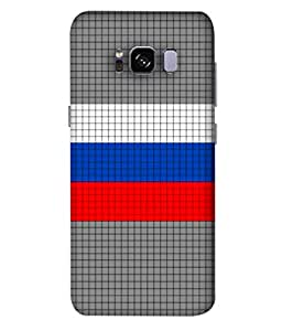 ColorKing Football Russia 09 Multi Color shell case cover for Samsung S8 Plus