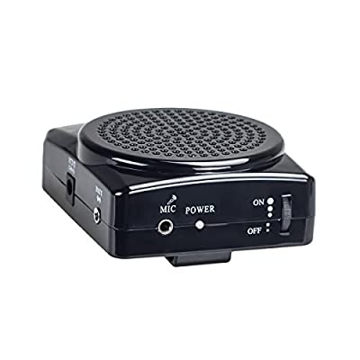 DuaFire Voice Amplifier Portable Microphone with Waistband for Teachers, Speakers, Yoga Instructors, Gym Directors, Coaches, Presentations, Seniors and Tour Guides