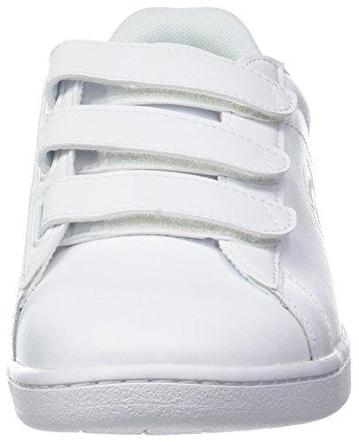Lacoste Carnaby 3181 Strap Blanc 21g SPW Femme Evo Wht Wht Baskets wFw4xpO